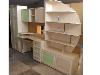 Стенка с рабочим местом Детская - Мебельная фабрика «Орвис»