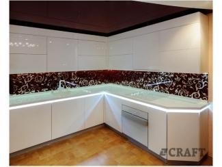Белая кухня Белинея - Мебельная фабрика «Крафт»