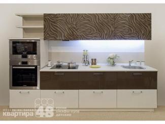 Кухонный гарнитур прямой Сафари - Мебельная фабрика «Камеа (Квартира 48)»