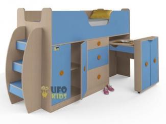 Кровать детская со столом - Мебельная фабрика «UFOkids», г. Санкт-Петербург