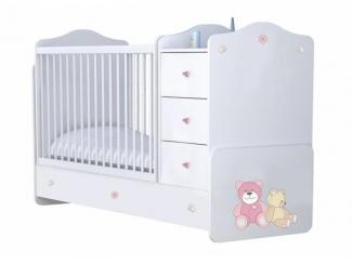 Кроватка-трансформер Polini   - Мебельная фабрика «TOPOLGROUP»