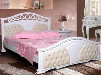 Кровать Валенсия - 2 (кожа)