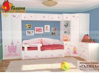 Детская Принцесса 2 - Мебельная фабрика «Галина»