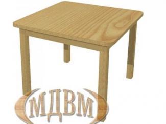 Стол детский квадратный-0 - Мебельная фабрика «ФСМ (Фабрика стильной мебели)»