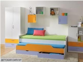Детская Силуэт - Мебельная фабрика «Боровичи-мебель», г. Боровичи