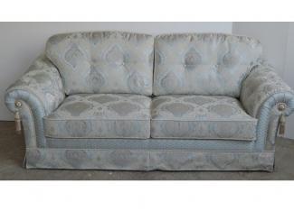 Прямой диван Мадлен без бахромы - Мебельная фабрика «ALVI SALOTTI»