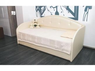 Детская кровать Сити с боковой спинкой
