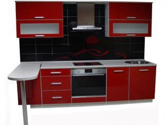 Кухня прямая Огонь - Мебельная фабрика «Антарес»