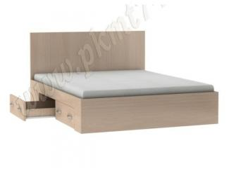 Двуспальная кровать с боковыми ящиками  - Мебельная фабрика «Мебельные технологии»