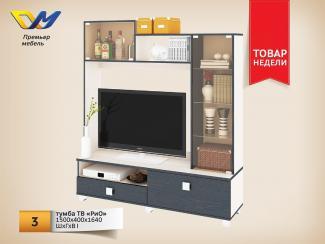 ТВ тумба Рио - Мебельная фабрика «Премьер мебель»
