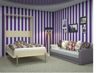 Шкаф-кровать ВЕЛЕНА-1 - Мебельная фабрика «Деталь Мастер»