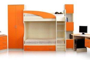 Детская Бемби-2 модульная система - Мебельная фабрика «СВК»