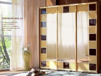 Шкаф-купе премиум №9,10 - Мебельная фабрика «Янтарь»