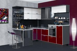 Угловая кухня Кармен - Мебельная фабрика «Трио», г. Ульяновск