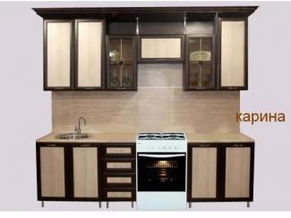 Кухонный гарнитур прямой Карина