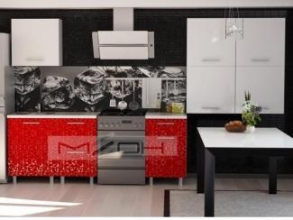 Небольшая прямая кухня ЛДСП-4 - Мебельная фабрика «Меон», г. Волжск