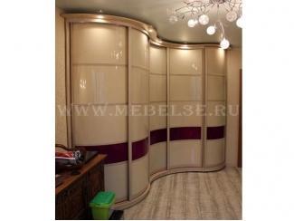 Пятидверный радиусный шкаф купе - Мебельная фабрика «ТРИ-е»