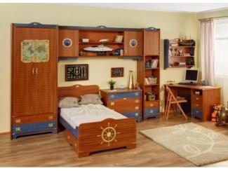 Коричневая мебель для детской Колумбус  - Мебельная фабрика «Дива мебель», г. Москва