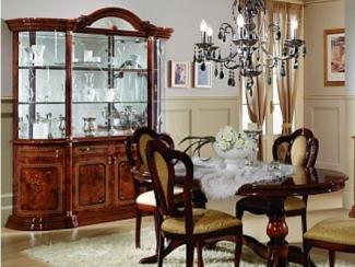 Гостиная стенка «Роза орех» - Оптовый мебельный склад «Дина мебель»