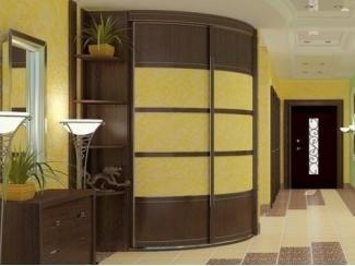 Радиусный шкаф-купе  - Мебельная фабрика «Вектра-мебель»
