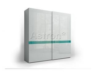 Раздвижной глянцевый шкаф Space Sp105 - Мебельная фабрика «Астрон»