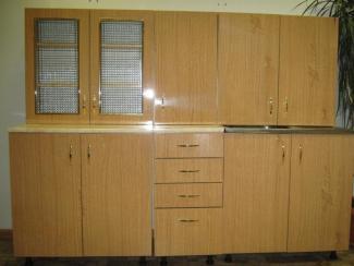 кухня прямая Визит-К (дерево) - Мебельная фабрика «Киржачская мебельная фабрика»