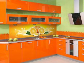 Кухонный гарнитур угловой 3 фотопечать - Мебельная фабрика «Виктория»