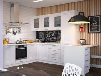 Белая кухня Зетта  - Мебельная фабрика «Симкор»