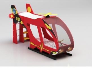 Двухъярусная кровать Вертолет - Мебельная фабрика «Red River»