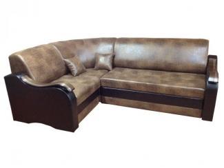Кожзам угловой диван Татьяна