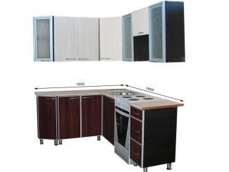 Кухонный гарнитур угловой Карина-3 - Мебельная фабрика «Грация»
