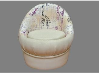 Пуфик со спинкой  - Мебельная фабрика «Династия»