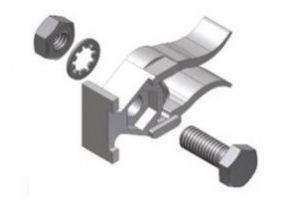 Фиксатор двери в комплекте 400.58.002 - Оптовый поставщик комплектующих «Интерьер»