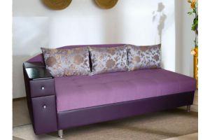 Фиолетовая тахта с ящиком Адриано - Мебельная фабрика «Викс»