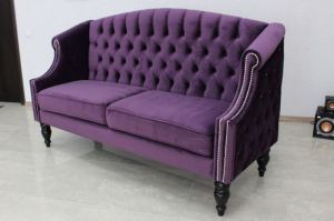 фиолетовый диван Baxter - Мебельная фабрика «ChesterStyle»