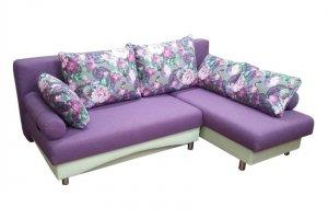 Фиолетовый диван-кровать Палермо 1 - Мебельная фабрика «Анюта», г. Владивосток