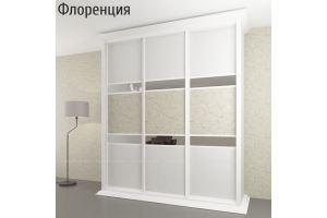 Шкаф-купе с зеркалом Флоренция - Мебельная фабрика «Мебель Поволжья»