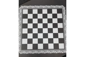Фотопечать на стекло Шахматная доска - Оптовый поставщик комплектующих «Зауральские Фасады»