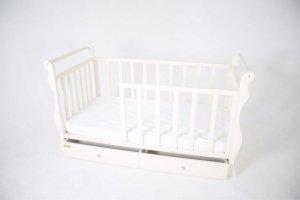 функциональная детская кроватка Маргаритка - Мебельная фабрика «Sweet Mebel»