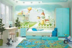 Модульная система для детской Роман - Мебельная фабрика «Стайлинг»