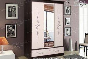Шкаф-купе с зеркалом Габриэла - Мебельная фабрика «Дара»