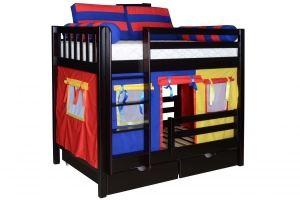 Кровать детская двухъярусная Галчонок-1 - Мебельная фабрика «Мебель Холдинг»