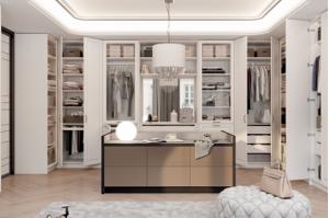 Шкаф в гардеробную комнату - Мебельная фабрика «ЗОВ»