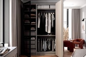 Гардеробный шкаф BASIC LINE - Мебельная фабрика «ЗОВ»