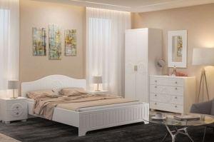 Гарнитур спальный Монблан 03 - Мебельная фабрика «Компасс»