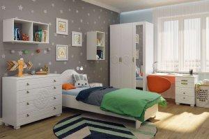 Гарнитур для детской Монблан 02 - Мебельная фабрика «Компасс»