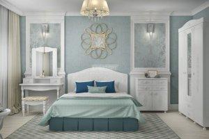 Гарнитур для спальни Ассоль 1 - Мебельная фабрика «Столплит»