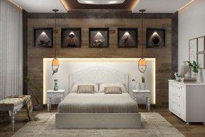 Гарнитур для спальни Ассоль 2 - Мебельная фабрика «Столплит»