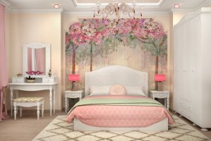 Гарнитур для спальни Ассоль 3 - Мебельная фабрика «Столплит»