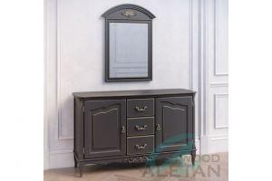 Комод с зеркалом 106BL 403BL - Мебельная фабрика «ALETAN wood»
